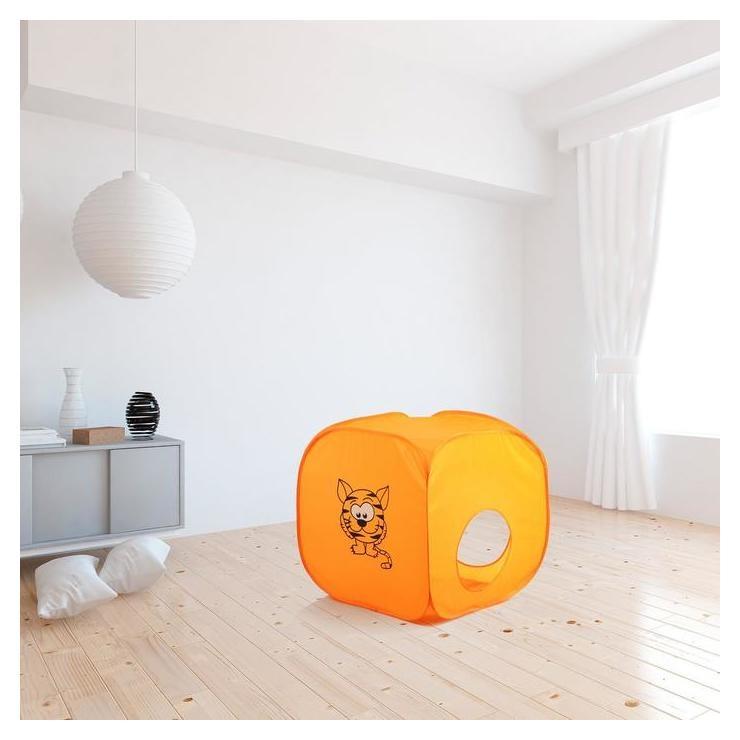 Палатка детская «Домик. весёлый тигрёнок», 60 × 60 × 60 см NNB