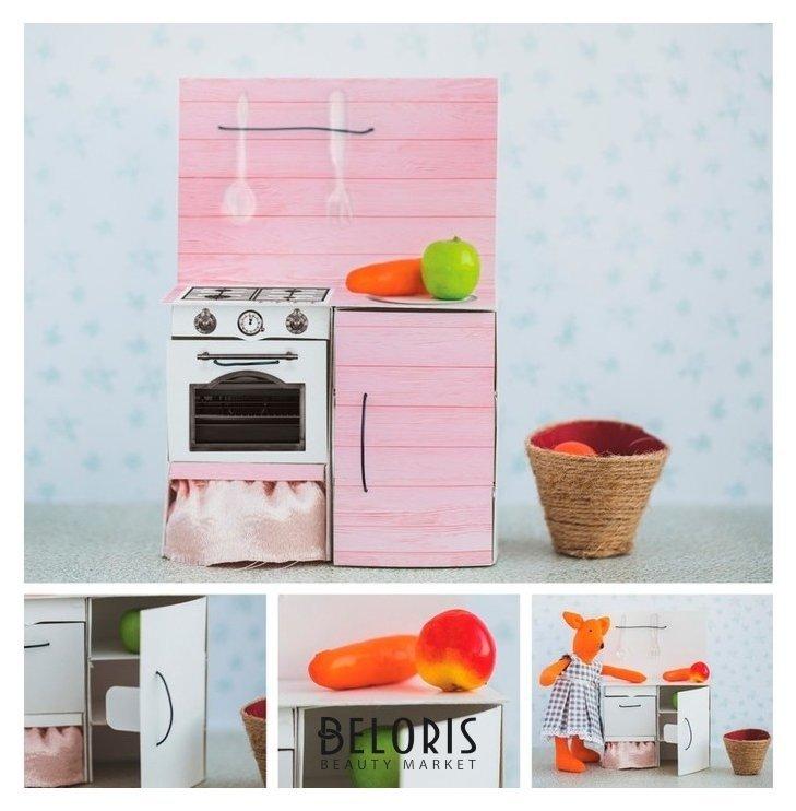 Мебель для кукол–малюток «Кухонный шкафчик», набор для шитья, 15 × 23,2 × 2,2 см Арт узор