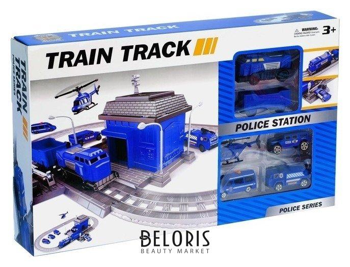 Железная дорога «Полицейский участок», работает от батареек NNB