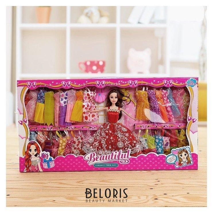 Кукла модель «Арина» с набором платьев и аксессуаром NNB