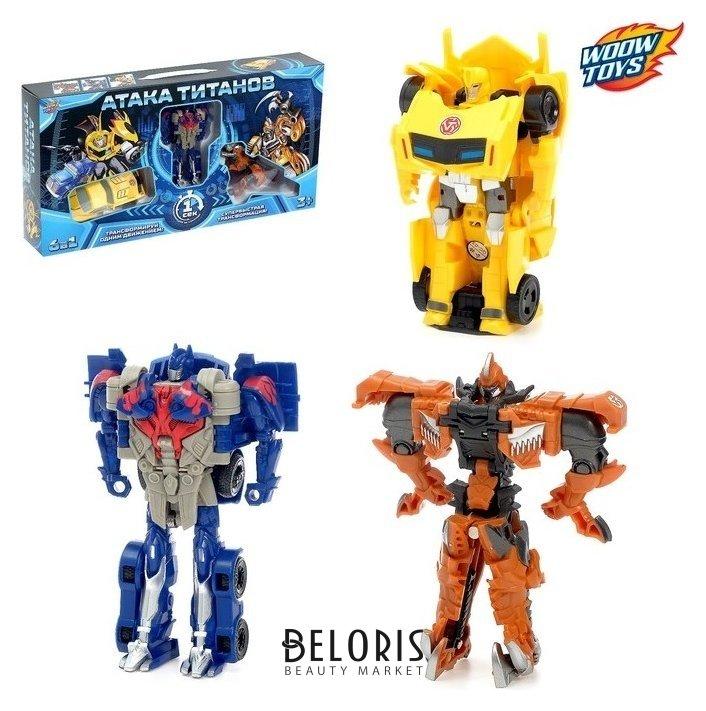 Набор роботов «Защитники» Woow toys
