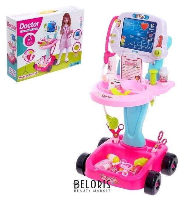Игровой набор доктора «Маленький врач», с аксессуарами, на колесах NNB