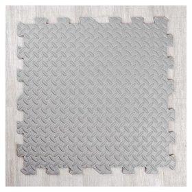 Развивающий коврик-пазл «Серый» 60х60х1 см