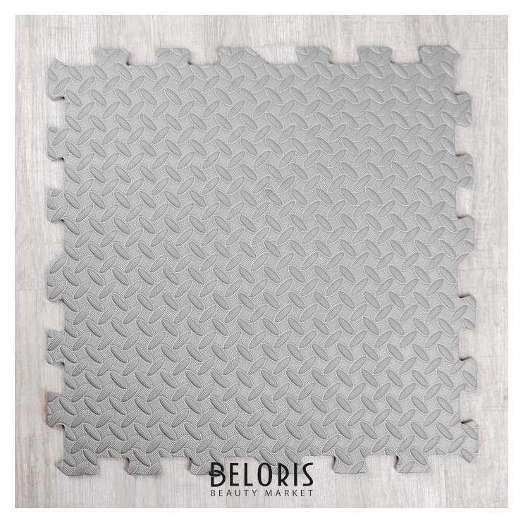 Развивающий коврик-пазл «Серый» 60х60х1 см NNB