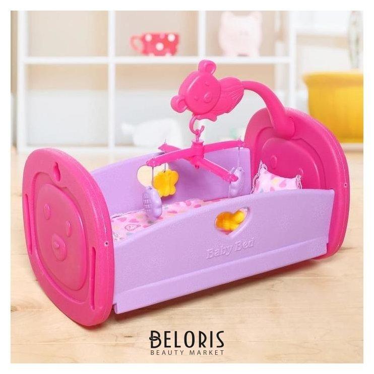 Кровать для кукол «Малыш», с аксессуарами NNB