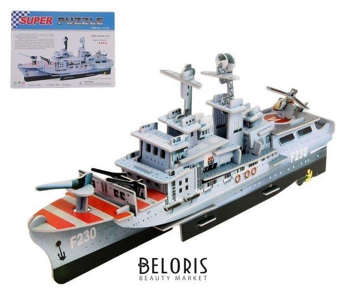 Конструктор 3D «Корабль», 55 деталей NNB