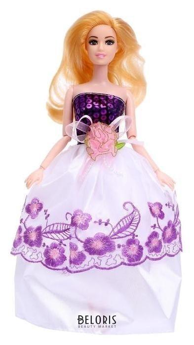 Кукла модель шарнирная Лиза в платье NNB