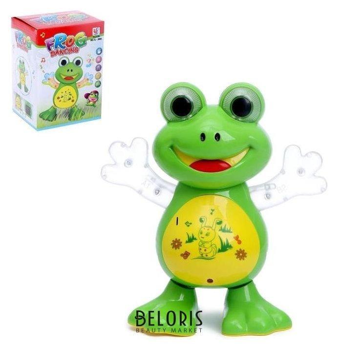 Игрушка «Лягушка», работает от батареек, танцует, световые и звуковые эффекты NNB