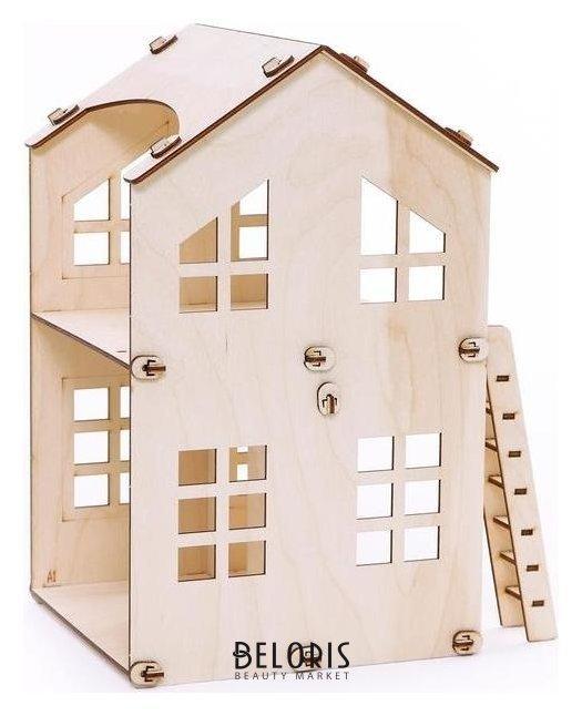 Конструктор из дерева домик «Счастье» Polly
