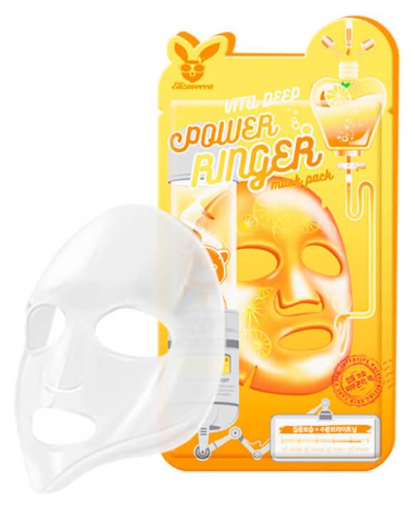 Увлажняющая тканевая маска с витаминами Vita Deep  Elizavecca