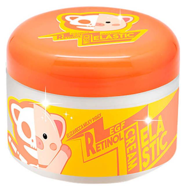 Мягкий крем для лица с ретинолом и фактором роста EGF Retinol Cream Elizavecca Milky Piggy