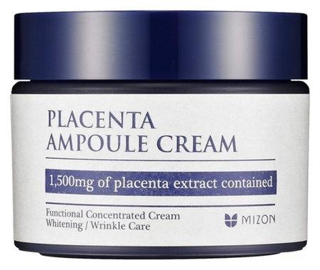 """Увлажняющий крем для лица """"Placenta Ampoule Cream""""  Mizon"""