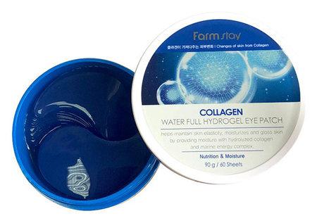 "Гидрогелевые патчи для глаз с коллагеном ""Collagen Water Full Hydrogel Eye Patch""  FarmStay"