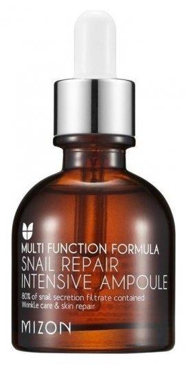 """Сыворотка для лица с экстрактом улиточной слизи """"Snail repair intensive ampoule""""  Mizon"""
