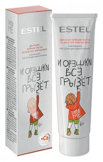 Детская зубная паста со вкусом апельсина  Estel Professional