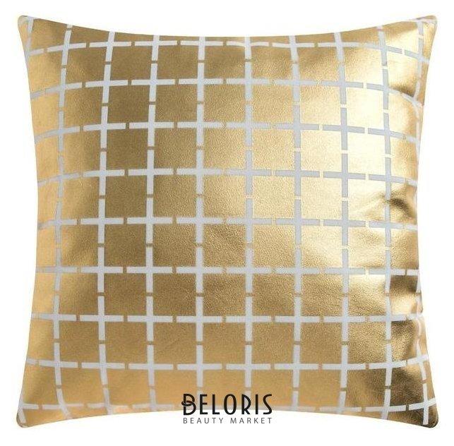 Чехол на подушку этель Клетка, 43*43 см, 100% п/э Этель