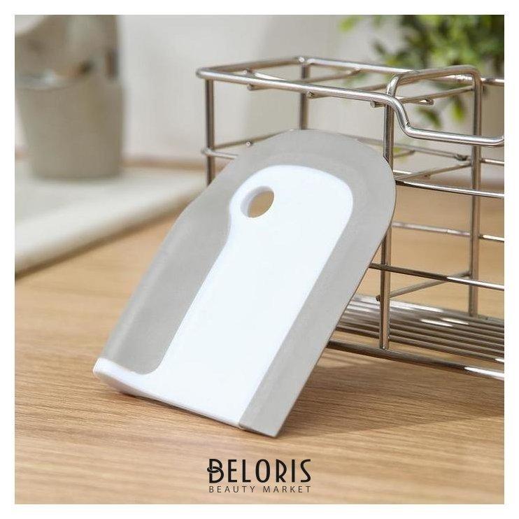 Щётка для очистки плит, посуды, 8×10×1,5 см NNB