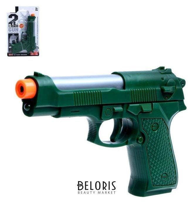 Пистолет «Судья», свет, звук, работает от батареек NNB