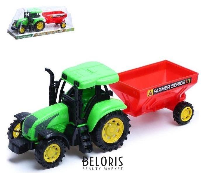 Трактор инерционный «Фермер» с прицепом NNB