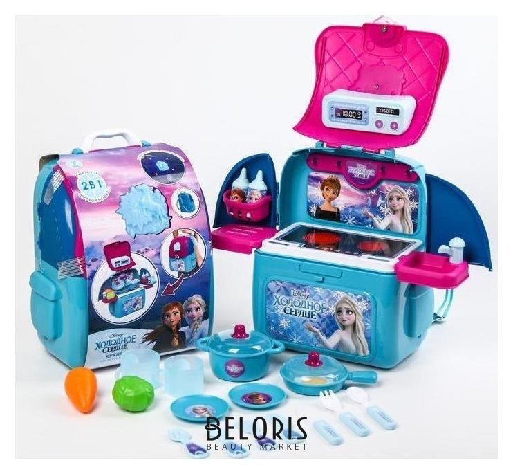 Игровой набор Кухня, холодное сердце, в рюкзачке Disney