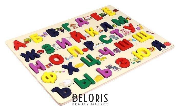 Детский развивающий алфавит, 30×40×1,5 см NNB