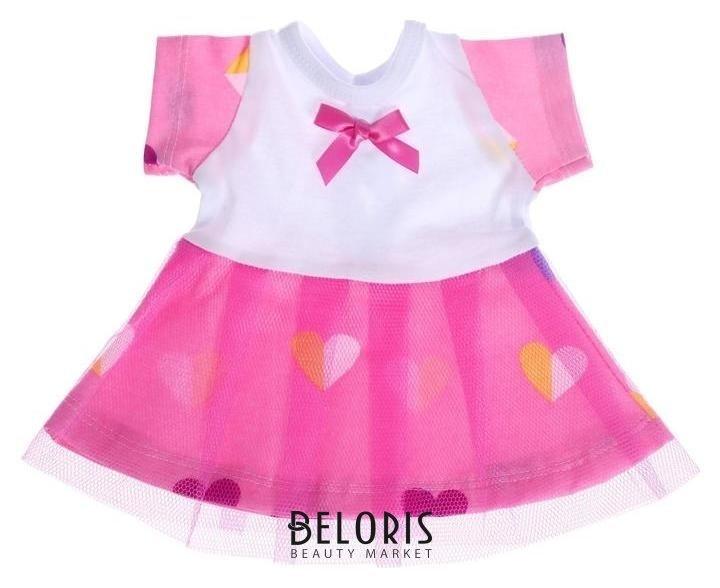 Одежда для кукол «Платье с повязкой» Colibri