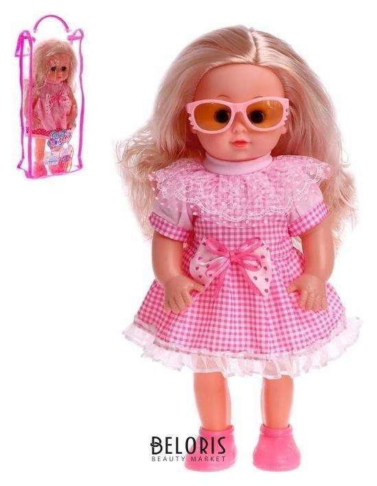 Кукла классическая «Катя» в платье, с аксессуарами NNB