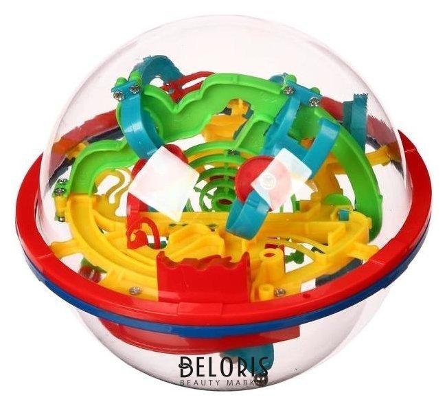 Логическая игра шар-лабиринт «Синий трактор» Играем вместе