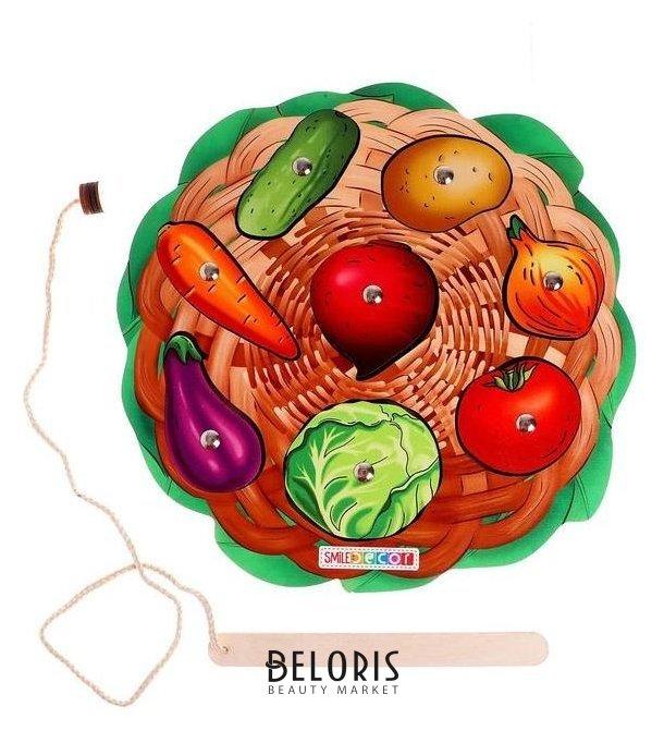 Игра с магнитами «Овощи» Smile Decor