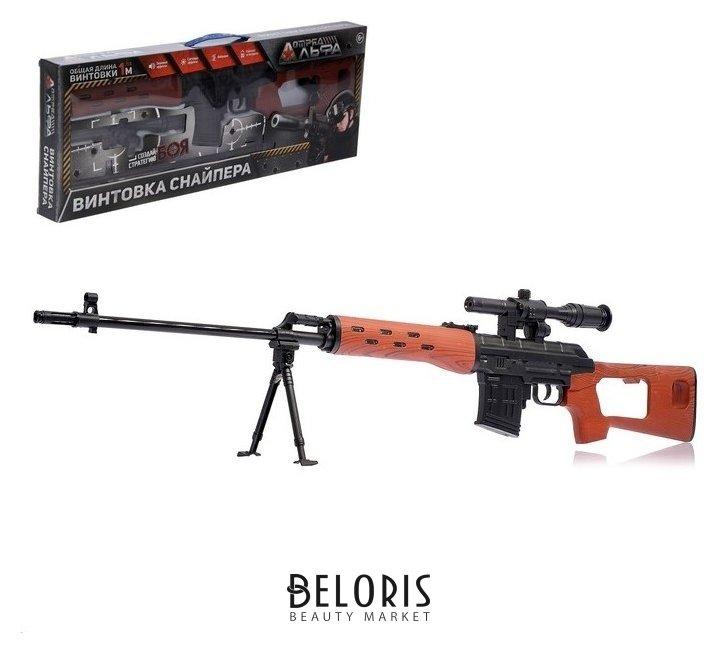 Набор «Винтовка снайпера», световые и звуковые эффекты, работает от батареек NNB