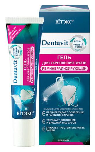 Гель для укрепления зубов реминерализирующий без фтора  Белита - Витекс