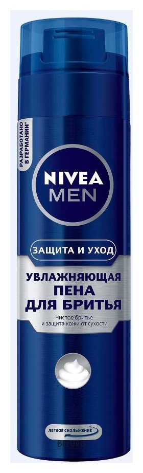 Купить Пена для лица Nivea, Пена для бритья Защита и уход , Германия