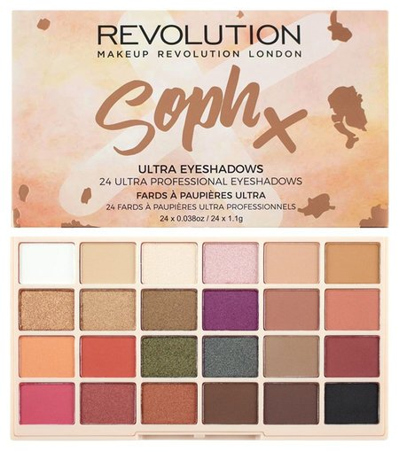 "Тени для век ""Sophx Ultra Eyeshadows""  Makeup Revolution"
