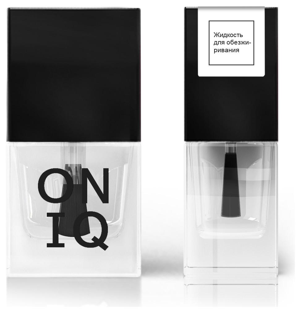 Жидкость для обезжиривания ногтевой пластины  ONIQ