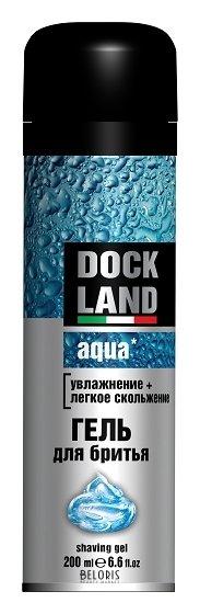 Купить Гель для лица DOCKLAND, Гель для бритья Aqua, Россия