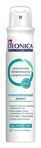 Дезодорант-спрей Антибактериальный эффект  Deonica