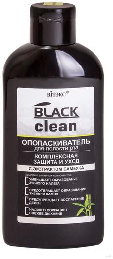 Ополаскиватель для полости рта Комплексная защита и уход Белита - Витекс BLACK CLEAN