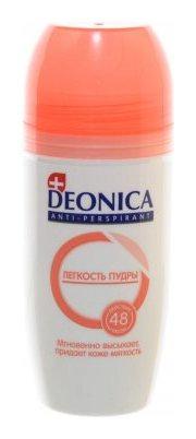 Дезодорант шариковый Легкость пудры  Deonica