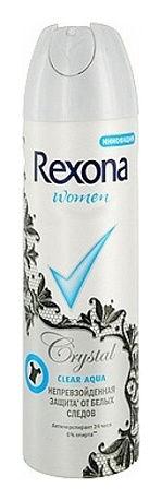 Дезодорант-антиперспирант аэрозоль Прозрачный кристалл 48 часов  Rexona