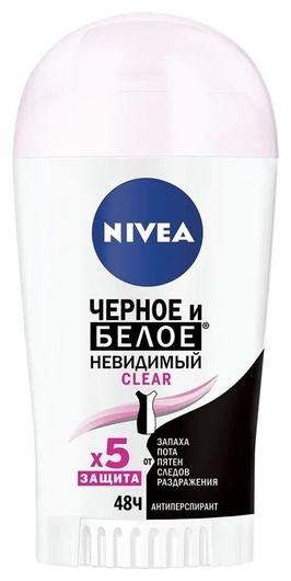 Дезодорант-стик Невидимая защита для черного и белого Nivea