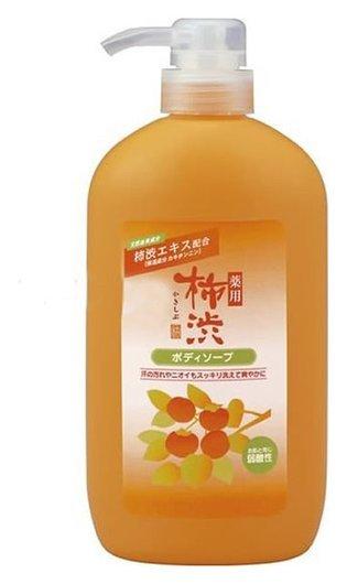 Жидкое мыло для тела антибактериальное хурма и гиалуроновая кислота  KUMANO