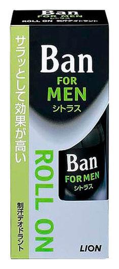 Мужской дезодорант-антипирсперант Ban с легким ароматом цитрусовых  CJ Lion