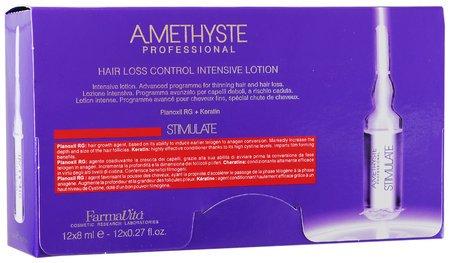 Лосьон против выпадения волос Amethist stimulate intensive lotion  FarmaVita