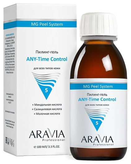 "Пилинг-гель ""ANY-Time Control"" 5%  Aravia Professional"