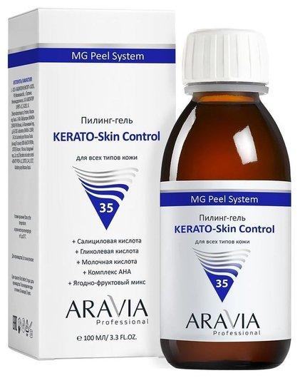 "Пилинг-гель ""KERATO-Skin Control""  Aravia Professional"