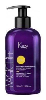 Маска Ультрафиолет для окрашенных и натуральных волос Mashera Ultra Violet Mask  Kezy