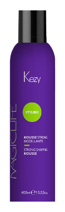 Мусс моделирующий сильной фиксации Mousse strong modellante   Kezy