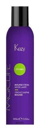 Купить Мусс для волос Kezy, Мусс моделирующий сильной фиксации Mousse strong modellante, Италия