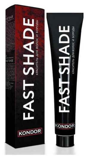 Краситель для волос и бороды «FAST SHADE»  Kondor