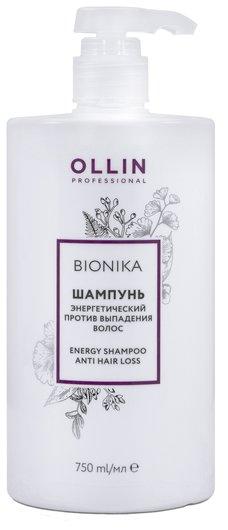 Энергетический шампунь против выпадения волос  OLLIN Professional